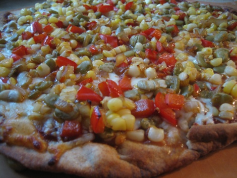 Succotash Pizza