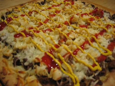 Garbage Plate Pizza
