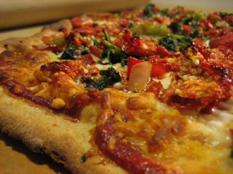 Sun-Dried Tomato Pizza