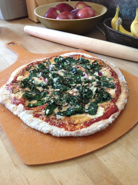 Rapini, Three Cheese Pizza