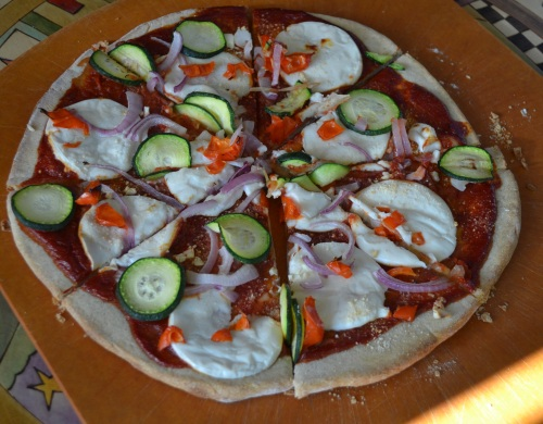 Vegan Veggie Pizza
